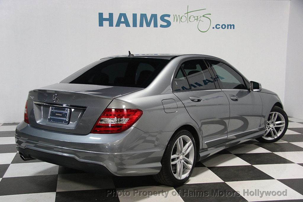 2014 Mercedes Benz C Class 4dr Sedan C 250 Sport RWD   16630311