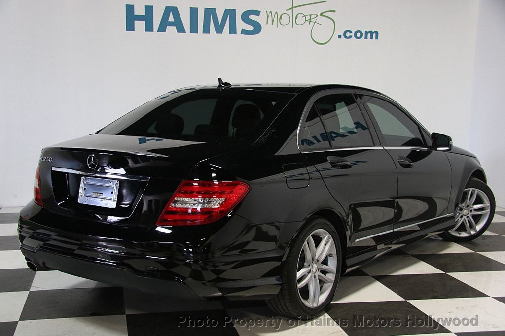 2014 Used Mercedes Benz C Class 4dr Sedan C 250 Sport RWD at Haims Motors Serving Fort Lauderdale Hollywood Miami FL IID