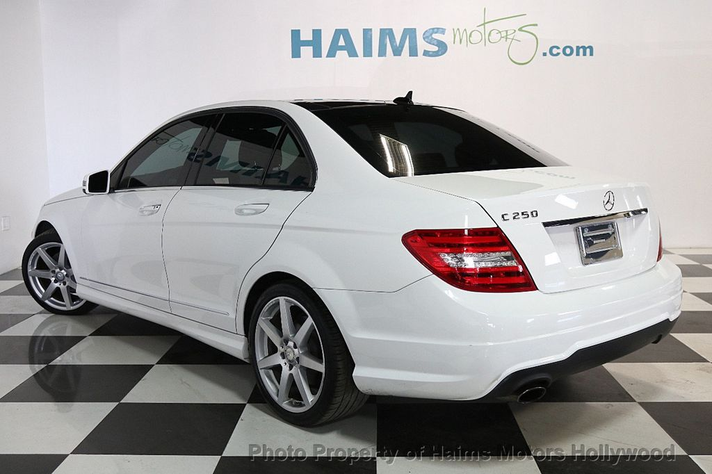 2014 Mercedes-Benz C-Class 4dr Sedan C 250 Sport RWD - 17441742 - 4