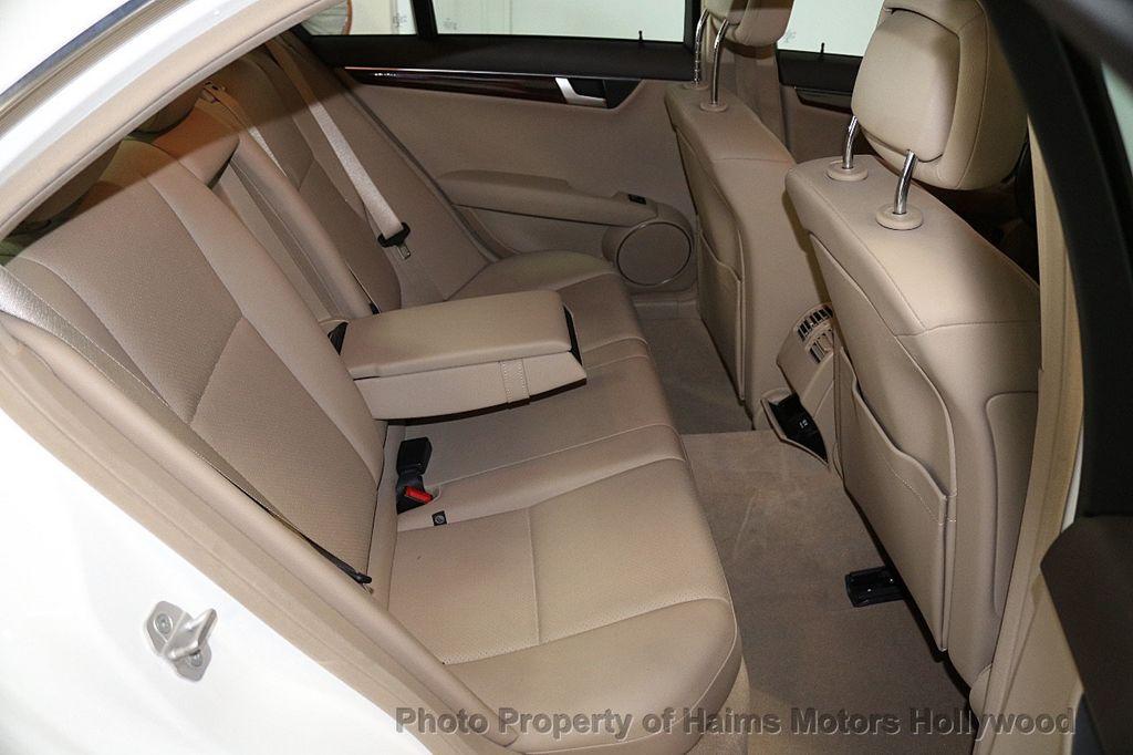 2014 Mercedes-Benz C-Class 4dr Sedan C 250 Sport RWD - 17501575 - 14