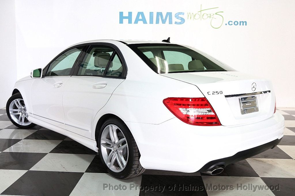 2014 Mercedes-Benz C-Class 4dr Sedan C 250 Sport RWD - 17501575 - 4