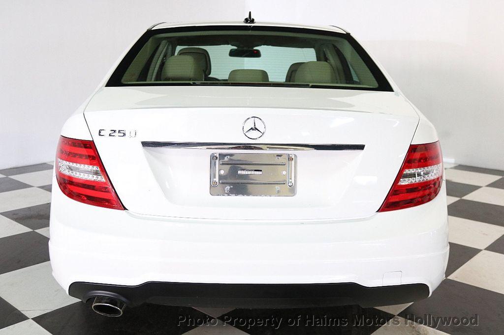 2014 Mercedes-Benz C-Class 4dr Sedan C 250 Sport RWD - 17501575 - 5