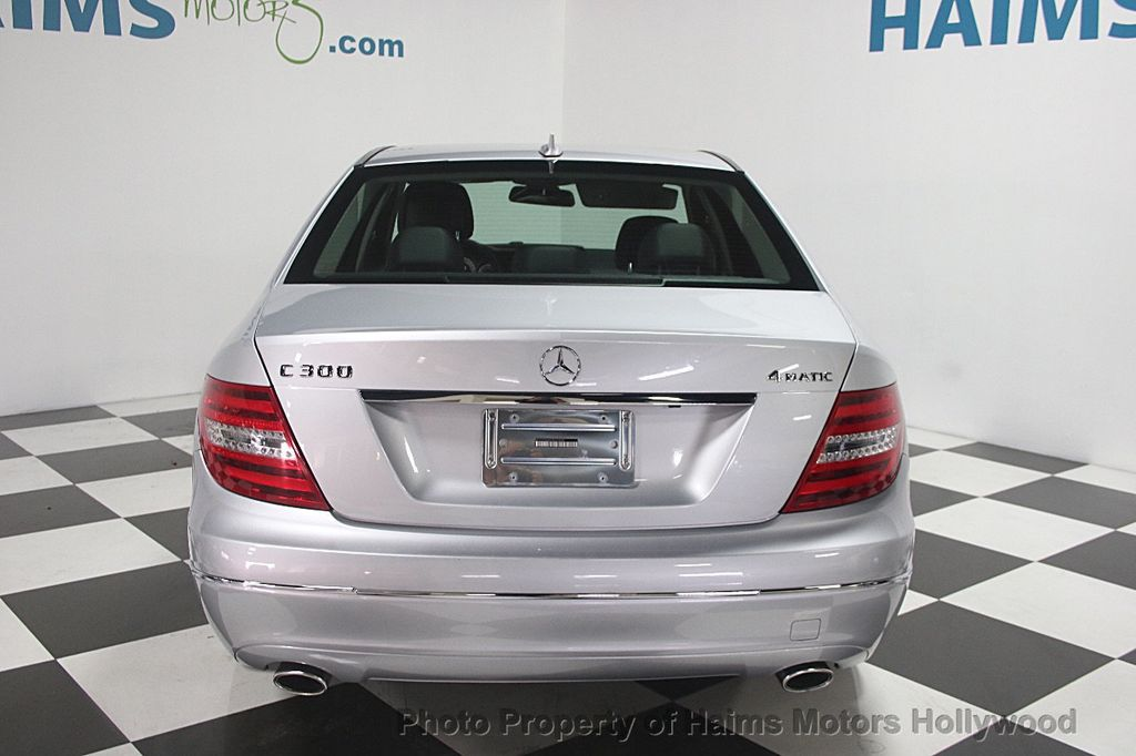 2014 Used Mercedes Benz C Class 4dr Sedan C300 Sport 4MATIC at Haims