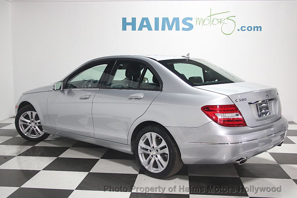 2014 used mercedes benz c class 4dr sedan c300 sport for Used mercedes benz miami