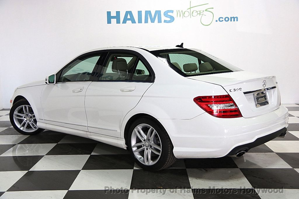2014 used mercedes-benz c-class 4dr sedan c300 sport 4matic at haims