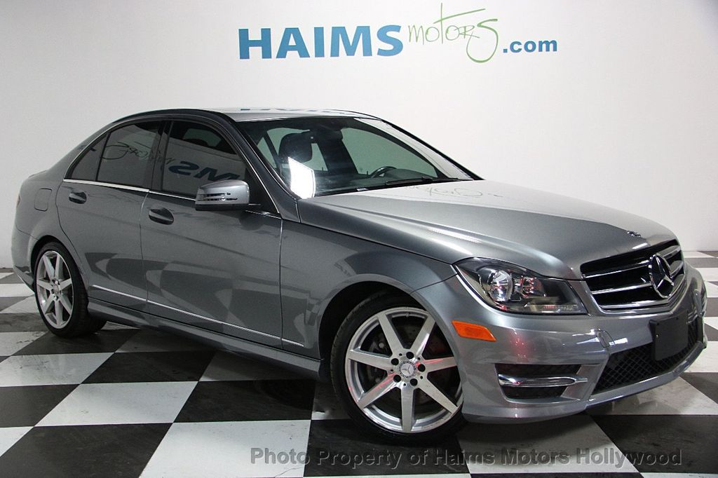 2014 used mercedes-benz c-class 4dr sedan c 300 sport 4matic at