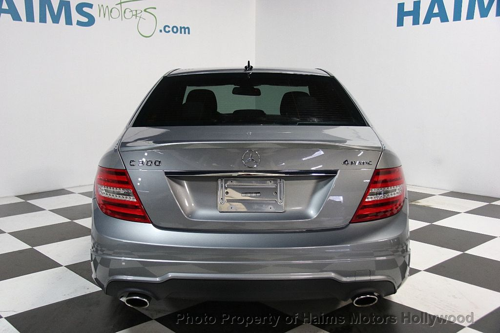 2014 Mercedes-Benz C-Class 4dr Sedan C 300 Sport 4MATIC - 16299162 - 4