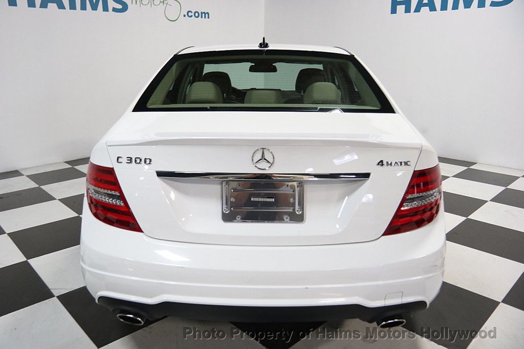 2014 Mercedes-Benz C-Class 4dr Sedan C 300 Sport 4MATIC - 16317079 - 4