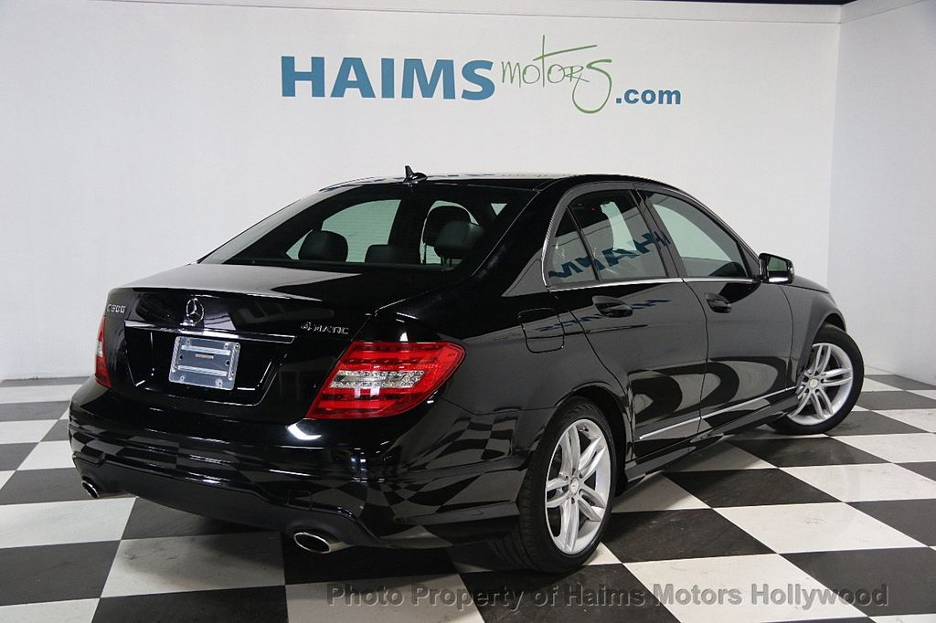 2014 used mercedes benz c class 4dr sedan c 300 sport 4matic at haims motors ft lauderdale. Black Bedroom Furniture Sets. Home Design Ideas