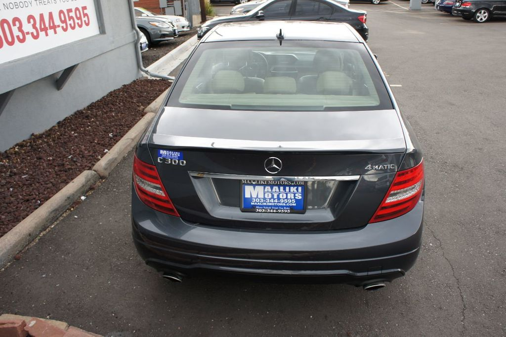 2014 Mercedes Benz C Class 4dr Sedan C 300 Sport 4MATIC   18036320