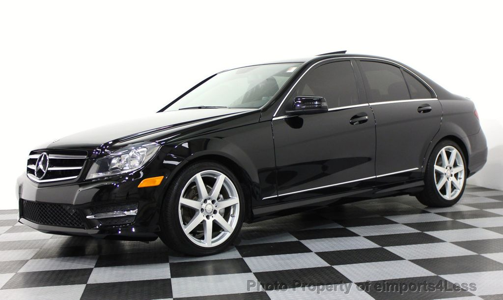 Delightful 2014 Mercedes Benz C Class CERTIFIED C300 4Matic AMG SPORT AWD Sedan CAMERA  /