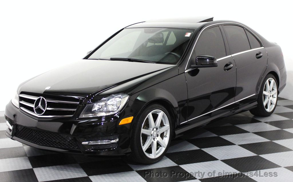 2014 used mercedes benz certified c300 4matic amg sport for Mercedes benz c300 4matic sedan