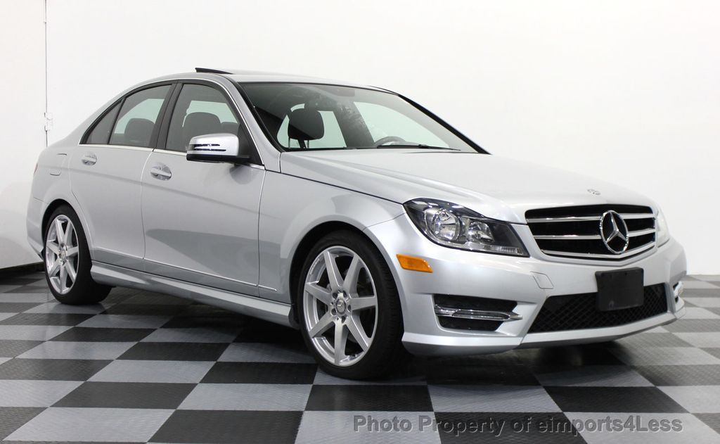 2014 used mercedes-benz certified c300 4matic amg sport awd sedan