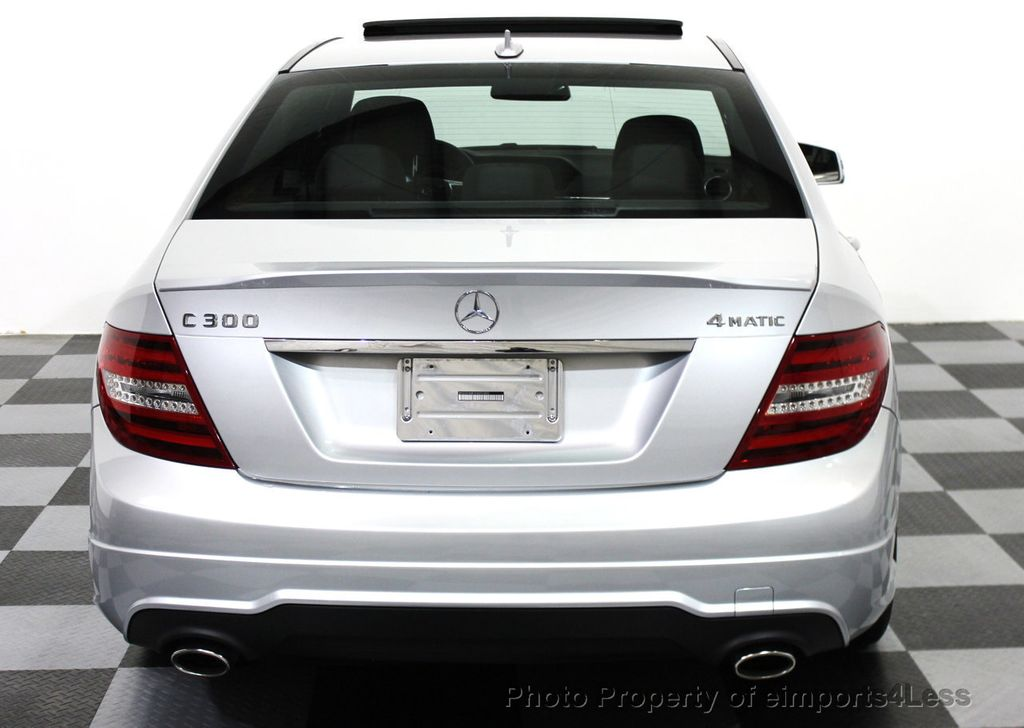 2014 used mercedes benz certified c300 4matic amg sport for Used mercedes benz
