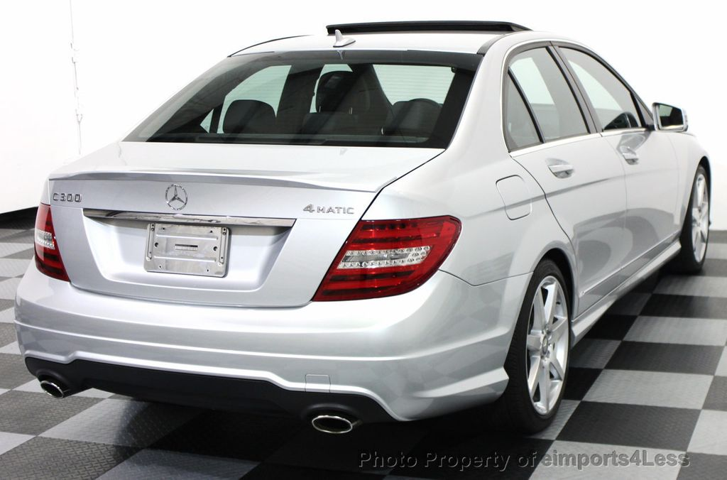 2014 Used MercedesBenz CERTIFIED C300 4Matic AMG SPORT AWD SEDAN