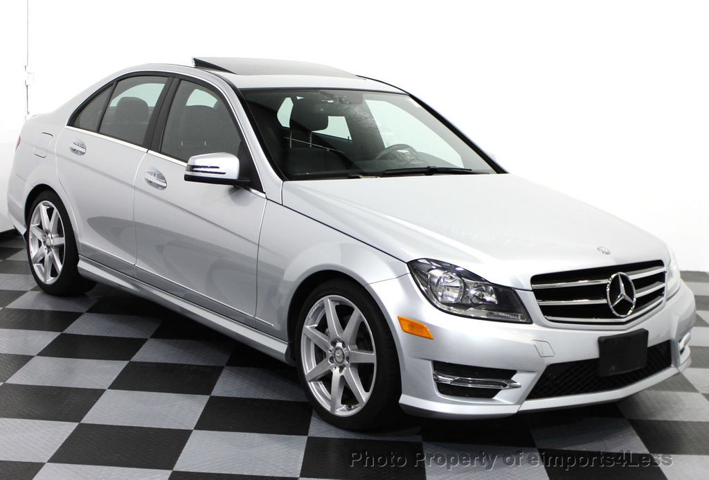 2014 used mercedes benz certified c300 4matic amg sport for Mercedes benz 300 amg