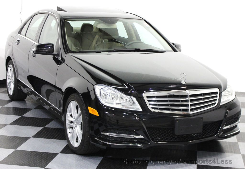 2014 Used Mercedes Benz C Class Certified C300 4matic Luxury Model