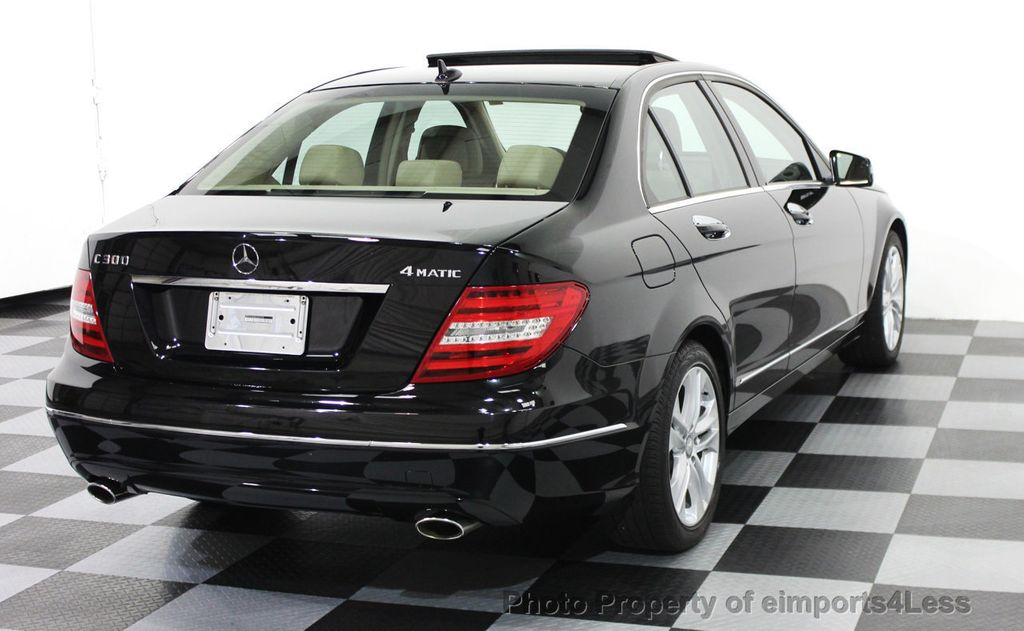 2014 used mercedes benz c class certified c300 4matic luxury model awd camera nav at. Black Bedroom Furniture Sets. Home Design Ideas