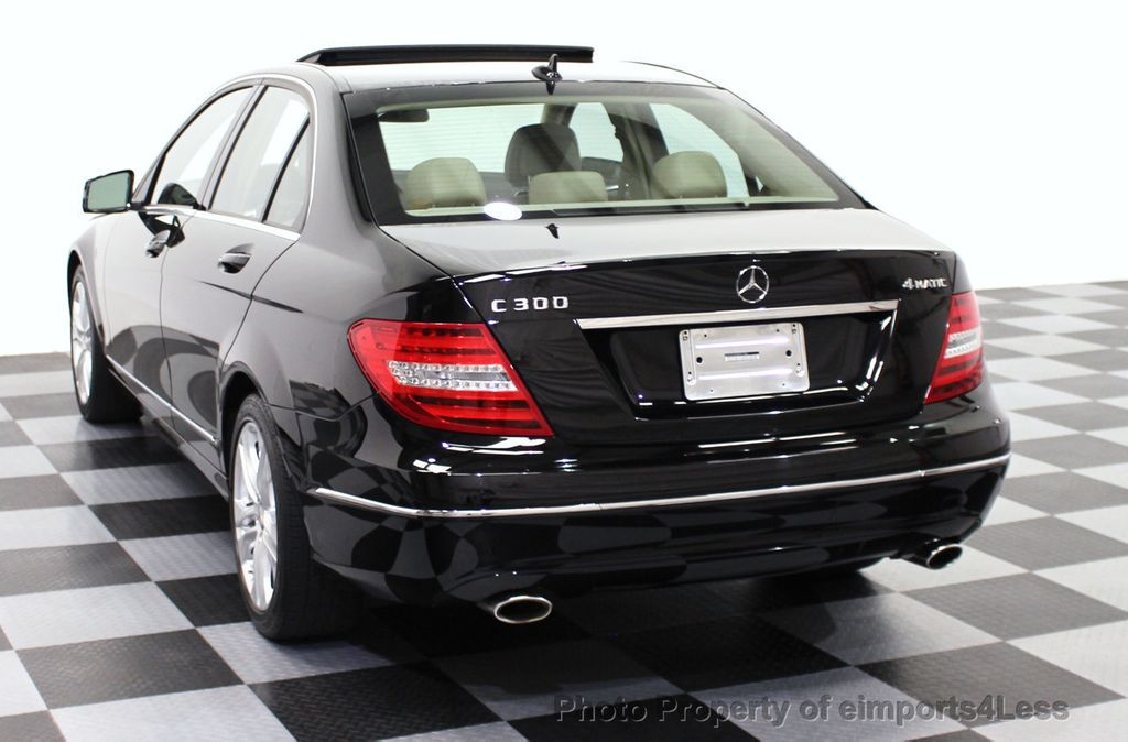 2014 Used MercedesBenz CClass CERTIFIED C300 4Matic Luxury Pkg
