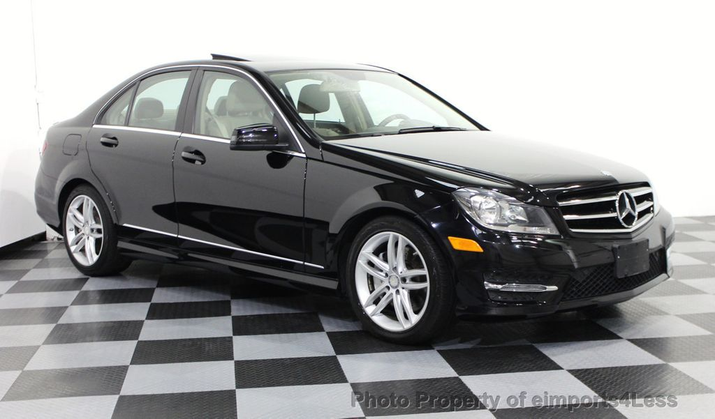 Captivating 2014 Mercedes Benz C Class CERTIFIED C300 4matic SPORT AWD Sedan CAMERA /  NAVI