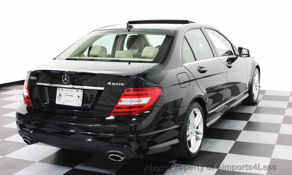 2014 mercedes benz c class certified c300 4matic sport awd sedan camera navi