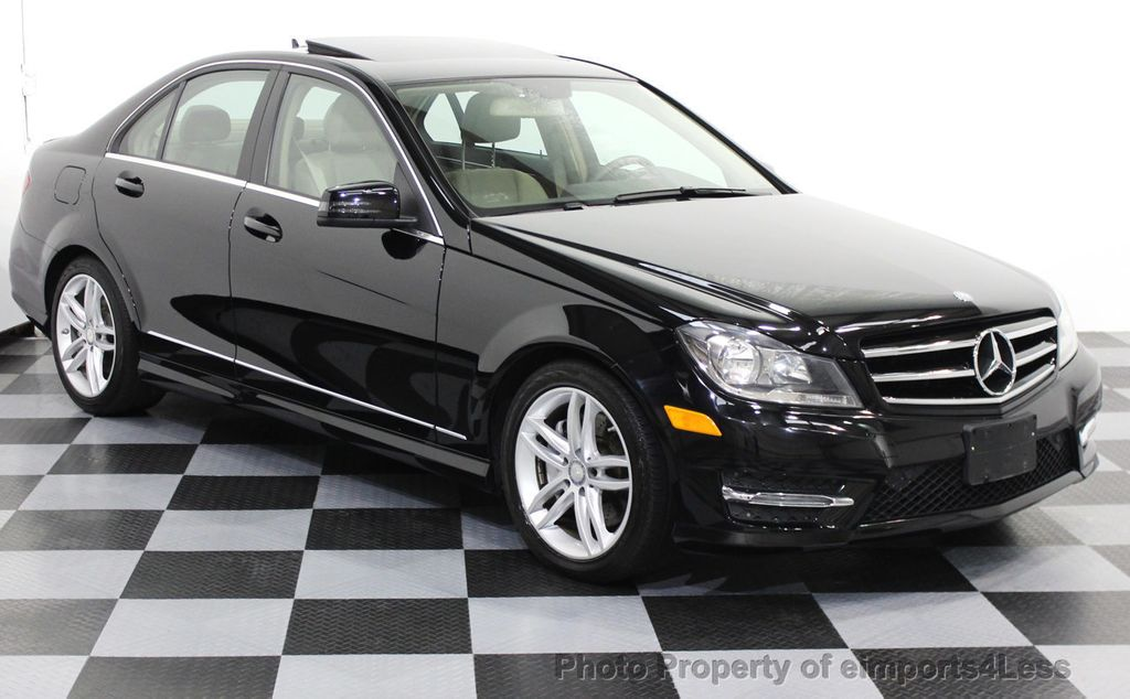 2014 Mercedes Benz C Class CERTIFIED C300 4matic SPORT AWD Sedan CAMERA /  NAVI