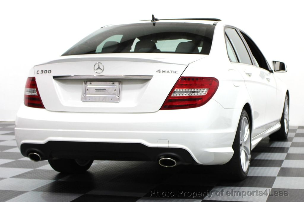 2014 Mercedes-Benz C-Class CERTIFIED C300 4Matic Sport Package AWD NAVIGATION - 16381224 - 16