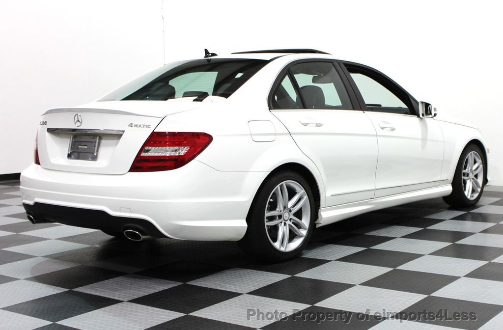 2014 Mercedes-Benz C-Class CERTIFIED C300 4Matic Sport Package AWD NAVIGATION - 16381224 - 17