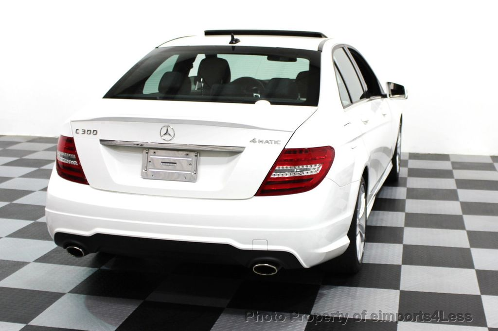 2014 Mercedes-Benz C-Class CERTIFIED C300 4Matic Sport Package AWD NAVIGATION - 16381224 - 18