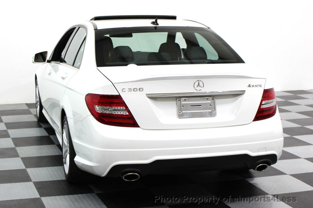 2014 Mercedes-Benz C-Class CERTIFIED C300 4Matic Sport Package AWD NAVIGATION - 16381224 - 24