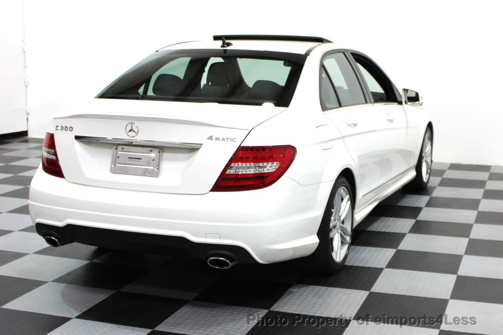 2014 Mercedes-Benz C-Class CERTIFIED C300 4Matic Sport Package AWD NAVIGATION - 16381224 - 26