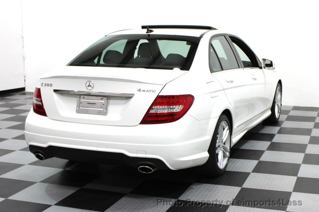 2014 Mercedes-Benz C-Class CERTIFIED C300 4Matic Sport Package AWD NAVIGATION - 16381224 - 27