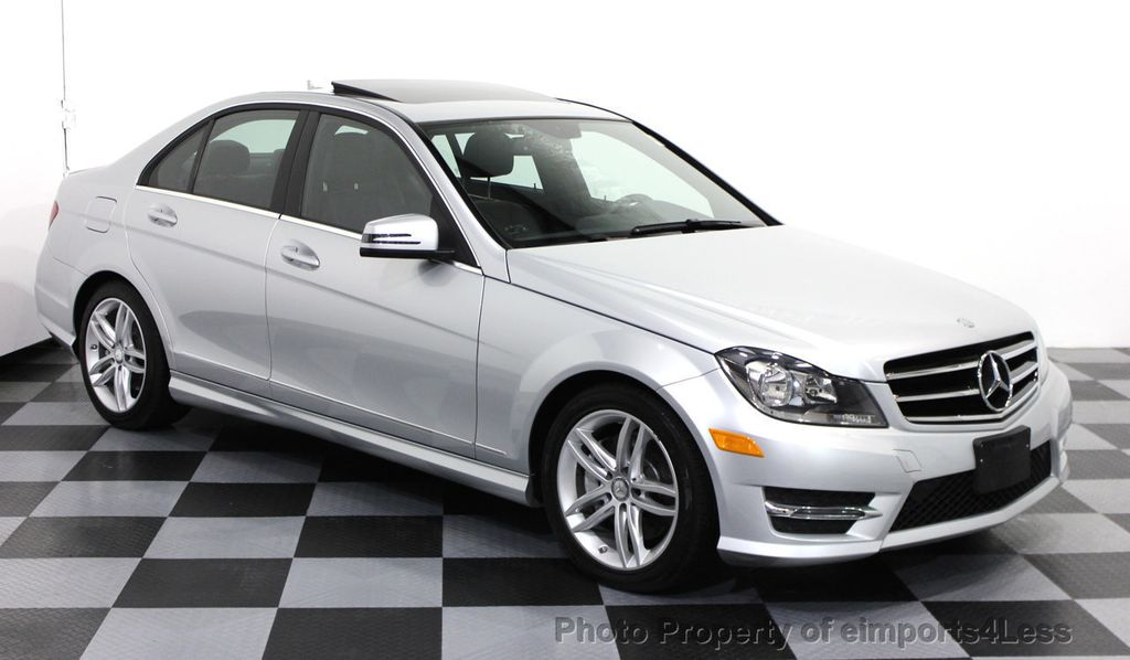 High Quality 2014 Mercedes Benz C Class CERTIFIED C300 4Matic Sport Package AWD Sedan  NAVI