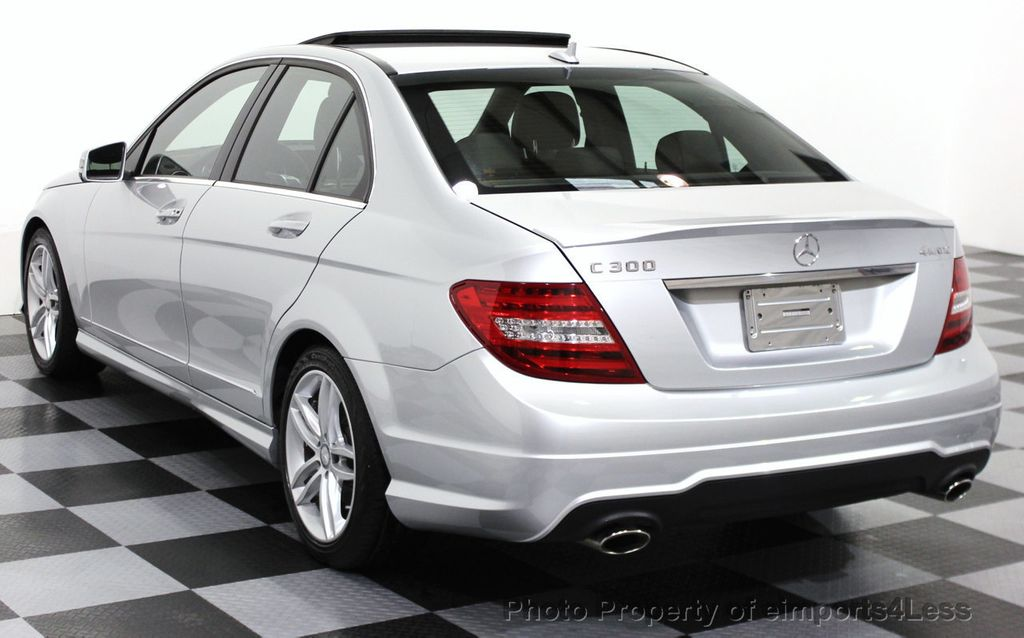 2014 used mercedes benz c class certified c300 4matic sport package awd sedan navi at. Black Bedroom Furniture Sets. Home Design Ideas