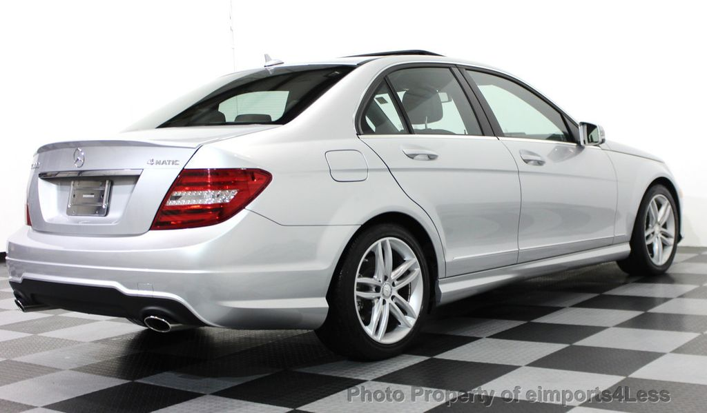 2014 Used MercedesBenz CClass CERTIFIED C300 4Matic Sport