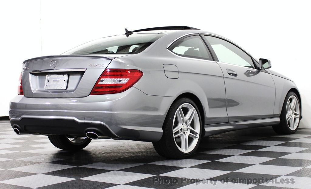 2014 used mercedes benz certified c350 4matic amg sport for Certified used mercedes benz for sale