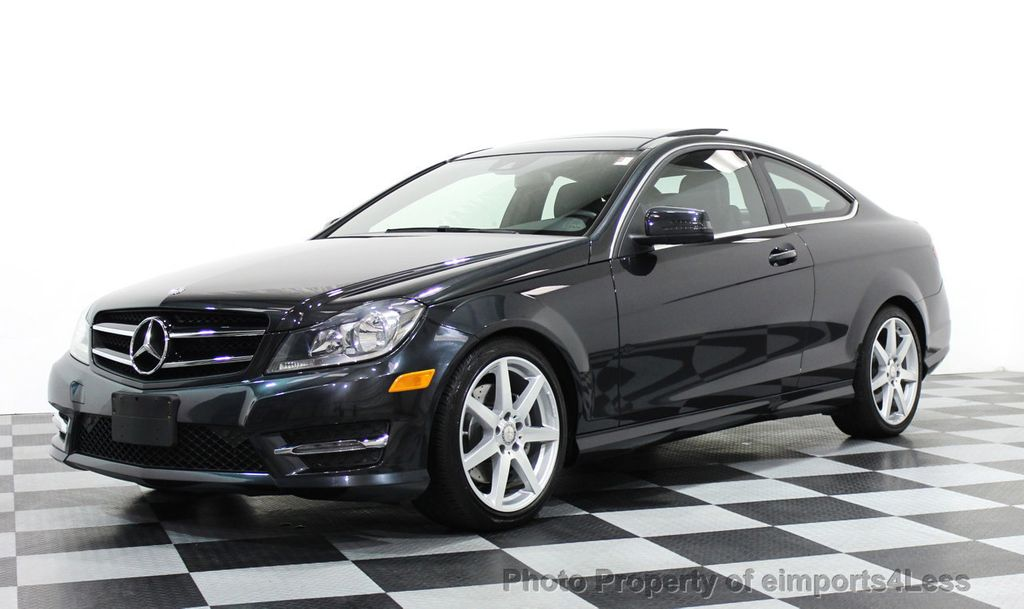 2014 used mercedes benz certified c350 4matic amg sport awd coupe camera navi at eimports4less - Mercedes c class coupe 2014 review ...