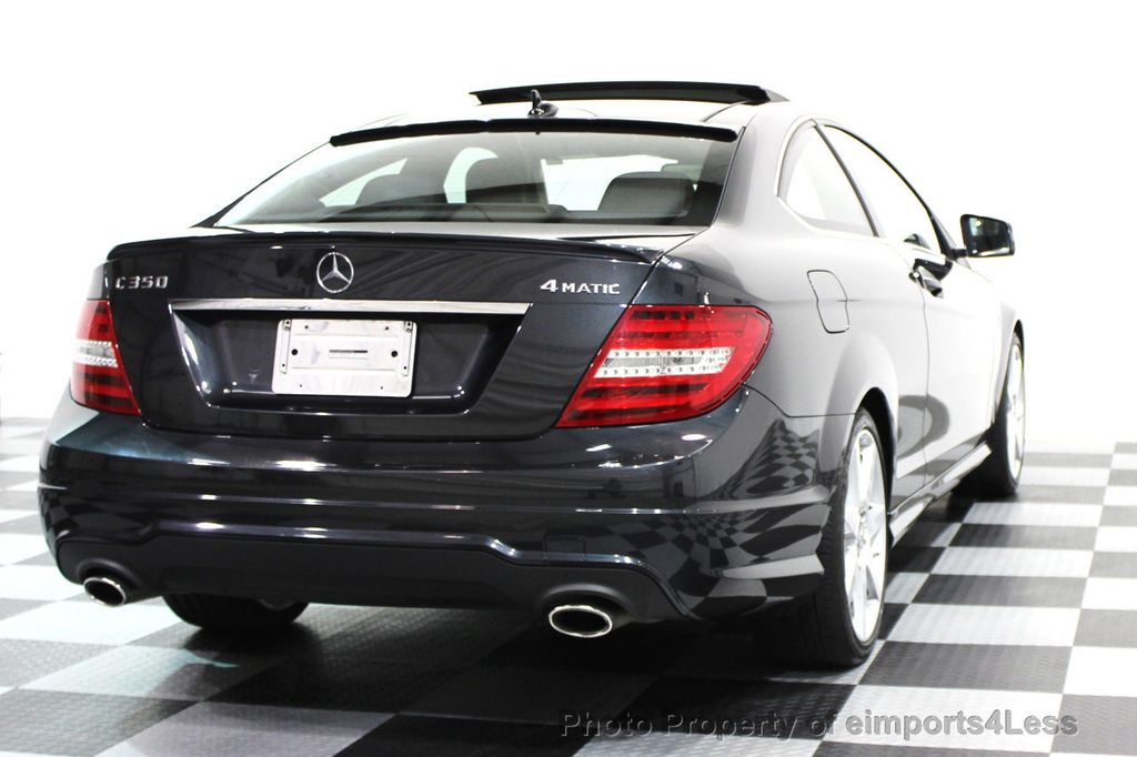 2014 used mercedes benz certified c350 4matic amg sport awd coupe camera navi at eimports4less - Mercedes c350 sport coupe ...