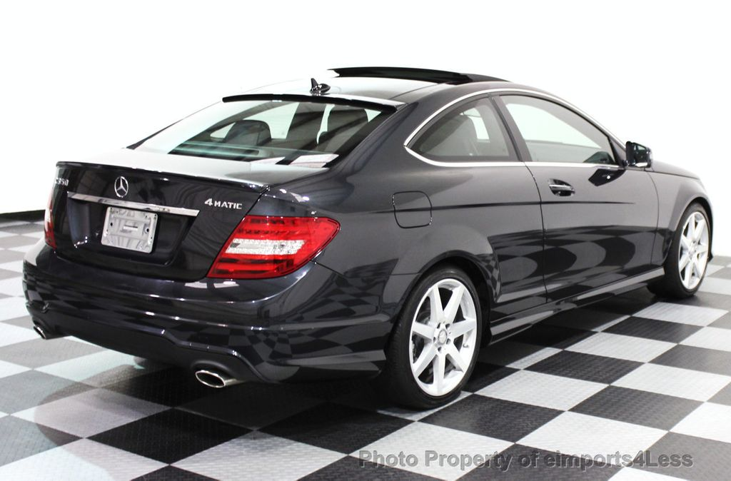 2014 used mercedes benz certified c350 4matic amg sport awd coupe camera navi at eimports4less. Black Bedroom Furniture Sets. Home Design Ideas