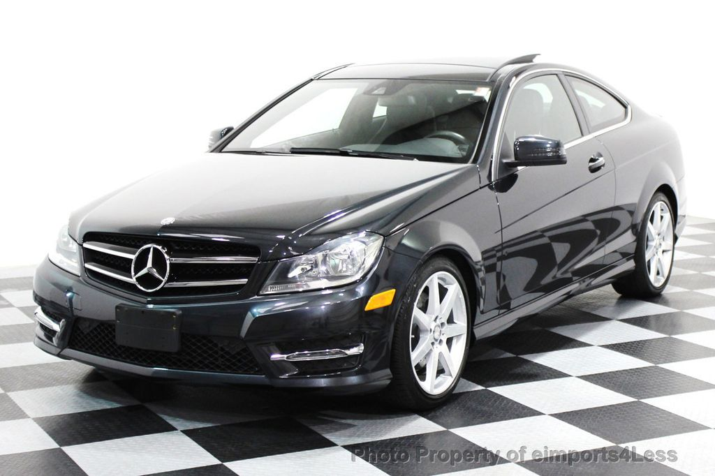 2014 Used MercedesBenz CERTIFIED C350 4Matic AMG SPORT AWD COUPE