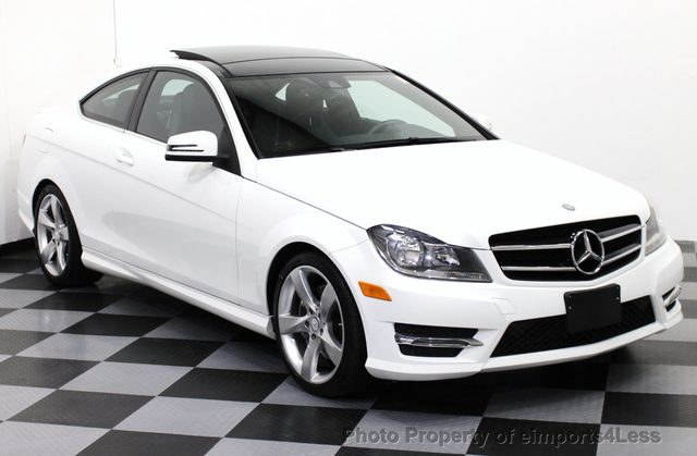 2014 used mercedes benz c class certified c350 4matic sport awd coupe at eimports4less serving. Black Bedroom Furniture Sets. Home Design Ideas