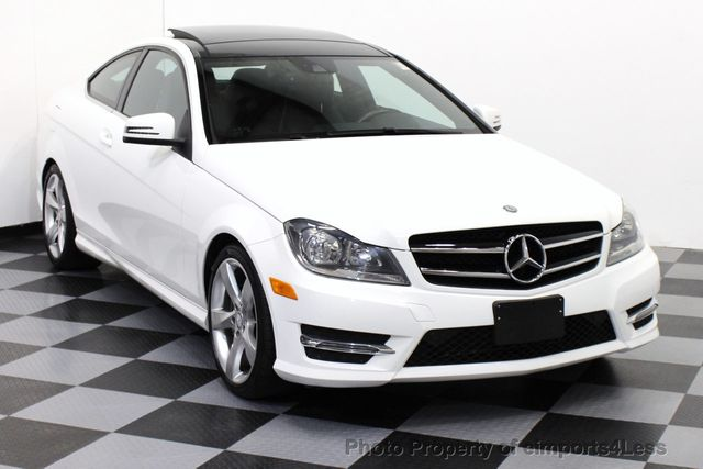 2014 used mercedes benz c class certified c350 4matic - Mercedes c class coupe 4matic ...