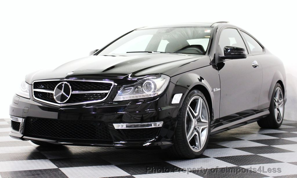 2014 used mercedes benz certified c63 amg coupe distronic for Mercedes benz cpo