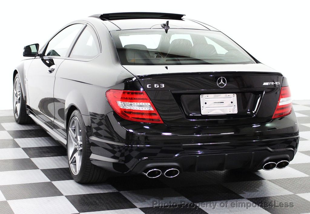 2014 used mercedes benz certified c63 amg coupe distronic navigation at eimports4less serving. Black Bedroom Furniture Sets. Home Design Ideas