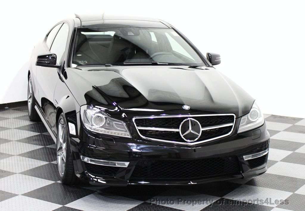 2014 used mercedes benz certified c63 amg coupe distronic. Black Bedroom Furniture Sets. Home Design Ideas