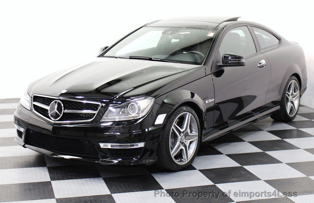 2014 used mercedes benz certified c63 amg coupe distronic for Approved mercedes benz used cars
