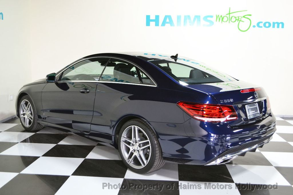 2014 used mercedes benz e class 2dr coupe e550 rwd at for Mercedes benz e class used
