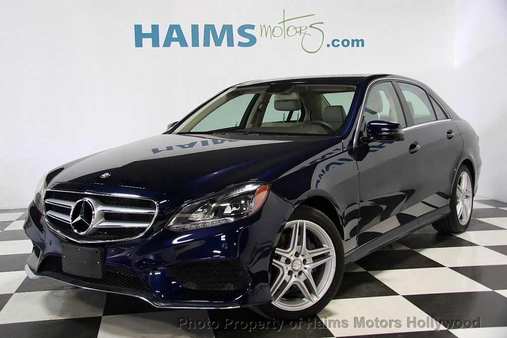 2014 Used Mercedes Benz E Class 4dr Sedan E350 4matic At