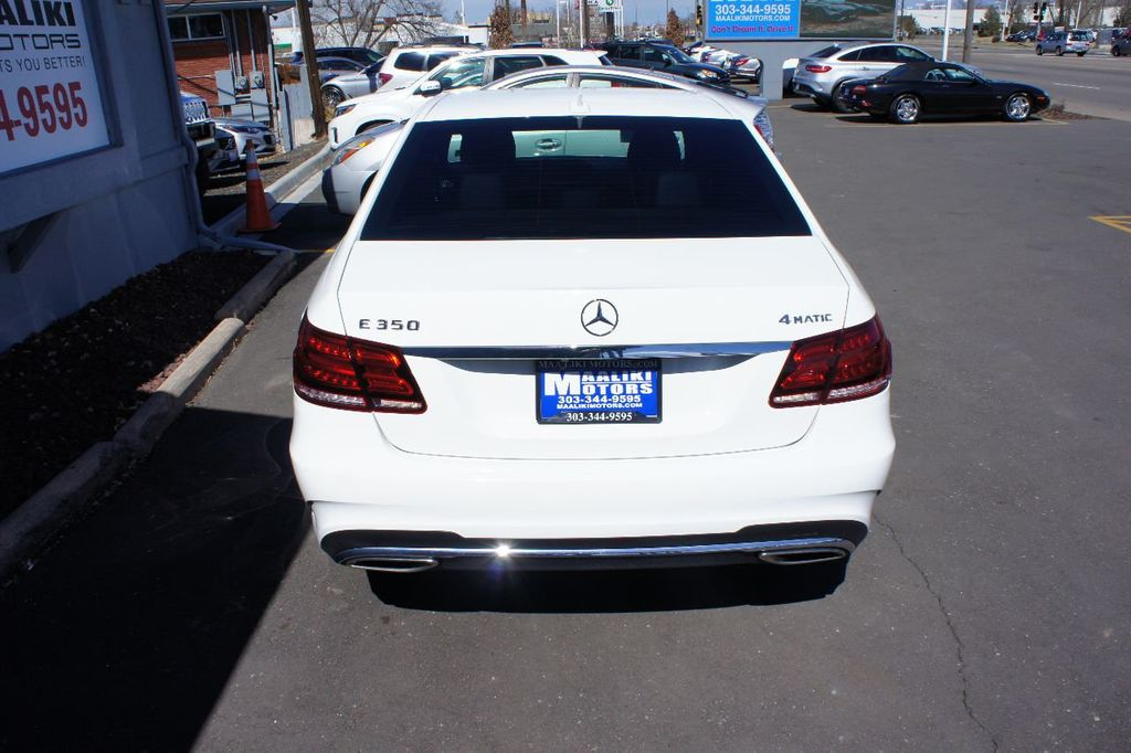 2014 Mercedes-Benz E-Class 4dr Sedan E350 4MATIC - 17465382 - 5