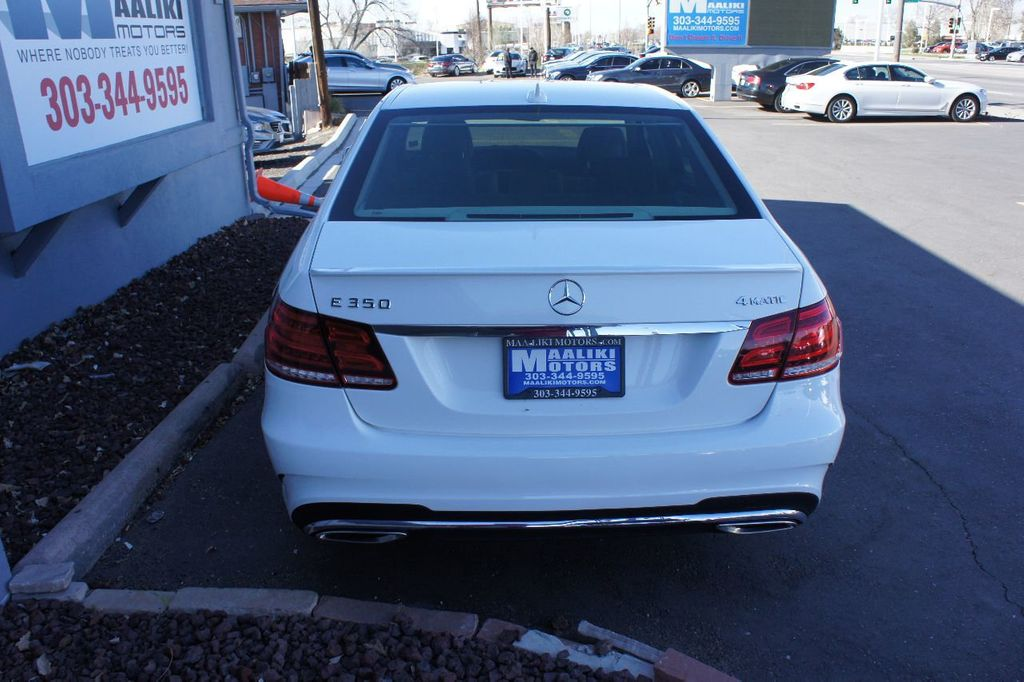 2014 Mercedes-Benz E-Class 4dr Sedan E350 4MATIC - 17562117 - 5
